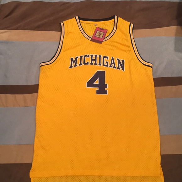 timeless design e8a5f 27abc Chris Webber Michigan jersey. NWT. Large. NWT